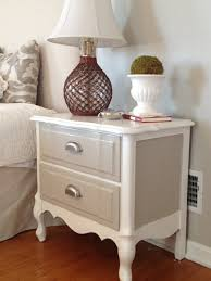 Bedroom Furniture Painted With Chalk Paint Two It Yourself Refinished Nightstand In Diy Chalk Paint Before