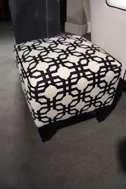 furniture houndstooth ottoman ottoman pouf ikea benches