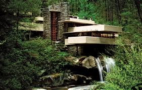 frank lloyd wright waterfall the falling water mohammed taha s tech design blog