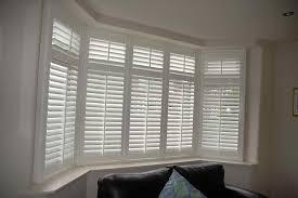 plantation shutters bay window bay window shutters in milltown