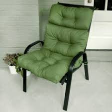 Outdoor Patio High Chairs by High Back Patio Cushions Foter