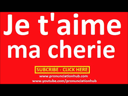 How To Pronounce Meme In French - how to say i love you in french youtube