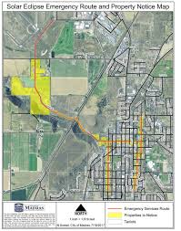 map of oregon showing madras oregon crossroads town plans emergency routes to bypass eclipse