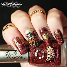 thanksgiving nail art tutorial the golden ummm turkey thanksgiving nail art design