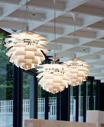 Artichoke Chandelier Pendant Lamp Contemporary Aluminum Copper Ph Artichoke By