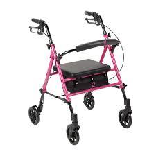 drive adjustable seat height rollator