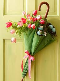 50 easy spring decorating ideas april showers showers and wreaths