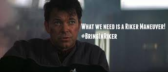 Riker Chair Frakes Wants Bringinriker To Put Him In The Captain U0027s Chair Of