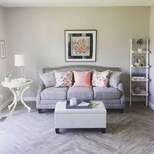 floor and more decor a lovely living room update diy shabby chic herringbone