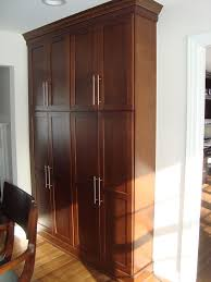 Kitchen Freestanding Pantry Cabinets Marvelous Freestanding Pantry Cabinet In Kitchen Modern With Mud