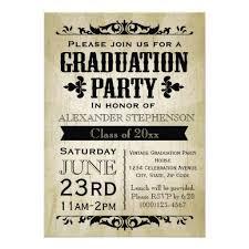 graduate invites amazing college graduation party invitations