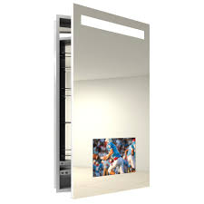 Bathroom Cool Lowes Medicine Cabinets For Bathroom Furniture In by Recessed Lighted Medicine Cabinet With Cool Oak Mirror And Lights