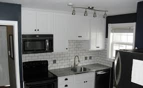 grey kitchen designs white backsplash ideas black and cabinets