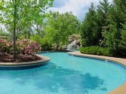Backyard Pool With Lazy River Family Friendly Luxury 3br Golf View Indoor Vrbo