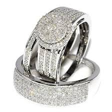 white gold wedding rings rings midwestjewellery his 10k white gold halo