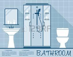 bathroom design template bathroom vector royalty free cliparts vectors and stock