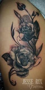 billedresultat for rose tattoo black and grey ideas for ashlynn