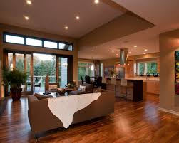 open floor plan house designs amazing one storey house designs with modern interior spacious