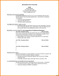 exles of a basic resume computer skills on resume sle bio data curriculum vitae basic