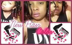 Cherry Bomb Hair Color Brown Cherry Bomb New Hair Color Youtube
