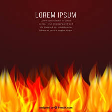 background template on fire vector premium download