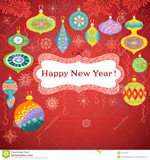happy new year card happy new year card royalty free stock photos image 35301368