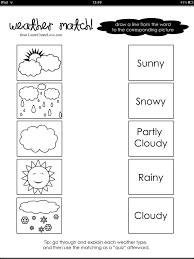observe and keep track of the weather each day with this fun chart