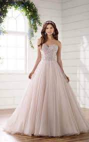 plus size fit and flare wedding dress plus size strapless fit and flare wedding dress essense of australia