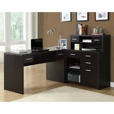 Crate And Barrel Lowe Chair by Monarch Specialties I7018 Hollow Core L Shaped Home Office Desk In