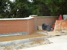 Home Cinema Decor Uk by Brick Wall Above Culvert Construction In Milton Keynes Northants