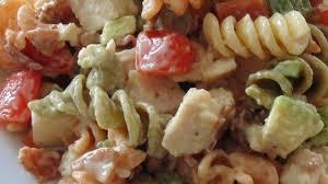 chicken club pasta salad recipe allrecipes com