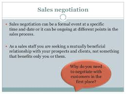 Seeking Negotiation Negotiation Skills