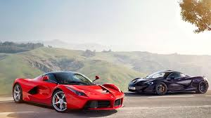 laferrari wallpaper mclaren black supercar and ferrari laferrari red supercar full hd