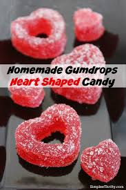 heart shaped candy gumdrop heart shaped candy diy s day