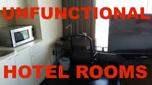 how to avoid hotels with unfunctional room design and missing