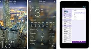 yahoo app for android yahoo launches weather app for iphone and yahoo mail app for