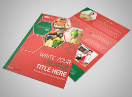 nutrition brochure template nutrition experts flyer template mycreativeshop