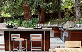 Patio 26 Outdoor Kitchens Decor Building An Outdoor Kitchen With Wood Outofhome