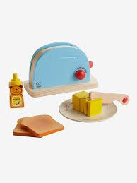 spielküche hape vb holz toaster hape für die spielküche in mehrfarbig