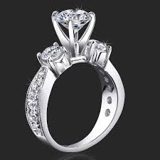 tiffany stone rings images 3 stone tiffany style past present future anniversary ring jpg