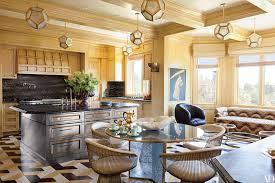stunning kitchen island ideas you can have bel air california home designed kelly wearstler lanterns blend