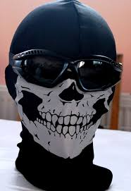 black ops ghost mask ghost call of duty special ops fancy dress reflective head skull
