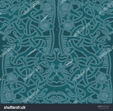 pattern vikings pattern background blue abstract stock vector
