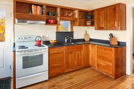 Natural Cherry Shaker Kitchen Cabinets Sturdy Shaker Kitchen Cabinets House And Decor