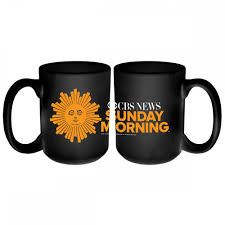 Nice Coffee Mugs Cbs News Sunday Morning Logo Mug Cbs Store