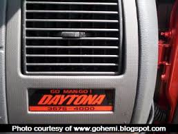 dodge charger daytona 2007 file dodge charger daytona limited edition dash plague jpg