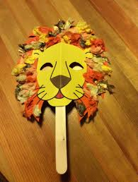lion mask craft for daniel in the lions den bible story bible