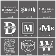 Engraved Groomsmen Gifts Awesome Groomsmen Gifts Personalized Whiskey Decanter Set U2013 All