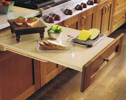 Pull Out Table Design Craft Cabinetry Organization Cabinetsextraordinaire