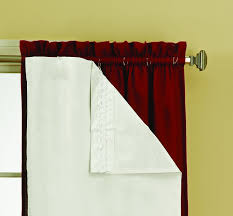 Kids Room Curtains by Amazon Com Eclipse Thermaliner Blackout Panel Pair White Home